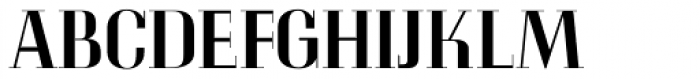 LTC Glamour Medium Font UPPERCASE