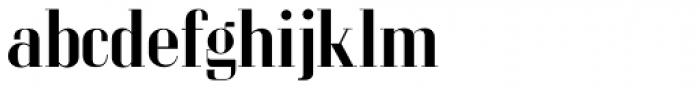 LTC Glamour Medium Font LOWERCASE