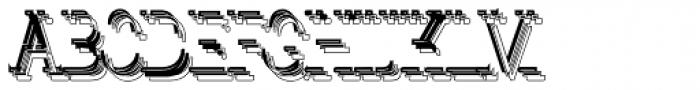 LTC Glamour Overdose Font UPPERCASE