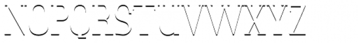 LTC Glamour Shadow Font UPPERCASE