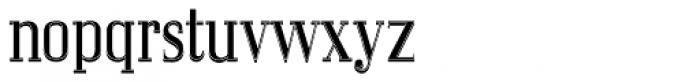 LTC Glamour Woodtype Font LOWERCASE