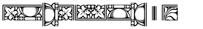 LTC Goudy Extras Font LOWERCASE