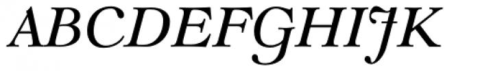 LTC Goudy Modern Italic Font UPPERCASE