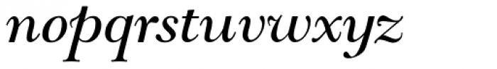 LTC Goudy Modern Italic Font LOWERCASE