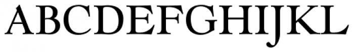 LTC Goudy Modern Pro Font UPPERCASE