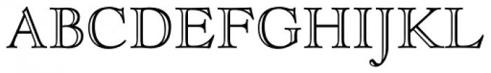 LTC Goudy Open Font UPPERCASE