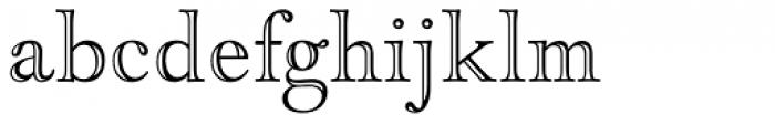 LTC Goudy Open Font LOWERCASE