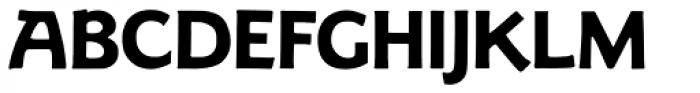 LTC Goudy Sans Bold Font UPPERCASE