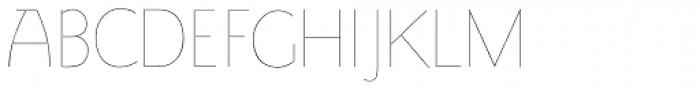 LTC Goudy Sans Hairline Font UPPERCASE