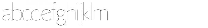 LTC Goudy Sans Hairline Font LOWERCASE