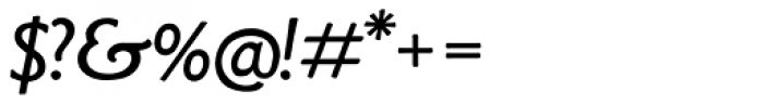LTC Goudy Sans Italic Font OTHER CHARS