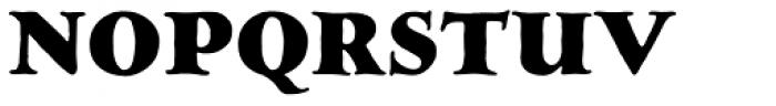 LTC Hess Monoblack Font UPPERCASE