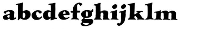 LTC Hess Monoblack Font LOWERCASE