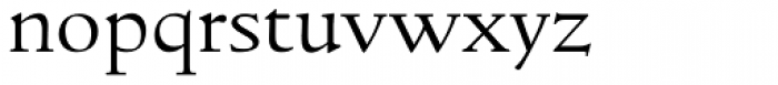 LTC Italian Old Style Light Font LOWERCASE