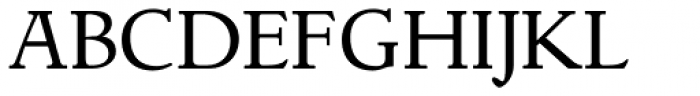 LTC Italian Old Style Pro Regular Font UPPERCASE