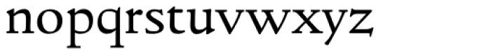LTC Italian Old Style Pro Regular Font LOWERCASE