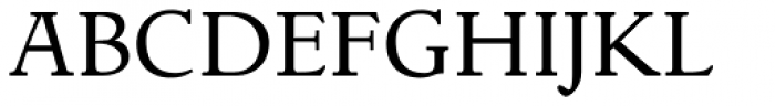 LTC Italian Old Style Regular Font UPPERCASE