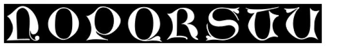 LTC Jacobean Initials D Font UPPERCASE