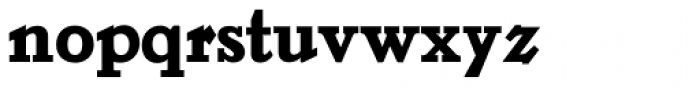LTC Jenson Heavyface Font LOWERCASE