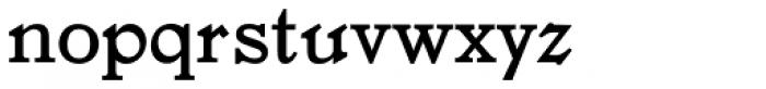 LTC Jenson Pro Font LOWERCASE