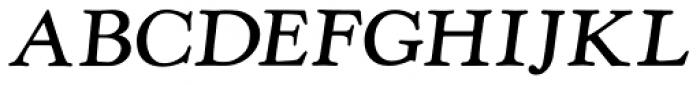 LTC Kennerley Pro Bold Italic Font UPPERCASE