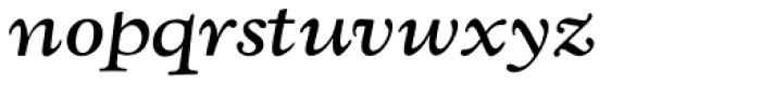 LTC Kennerley Pro Bold Italic Font LOWERCASE