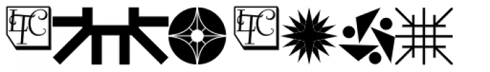 LTC Keystone Ornaments Regular Font OTHER CHARS