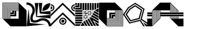 LTC Keystone Ornaments Regular Font LOWERCASE