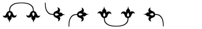 LTC Metropolitan Ornaments Font OTHER CHARS