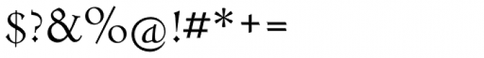 LTC Metropolitan Roman Font OTHER CHARS