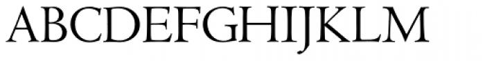 LTC Metropolitan Roman Font UPPERCASE