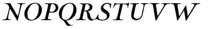 LTC Nicolas Cochin Pro Italic Font UPPERCASE
