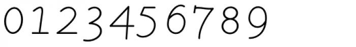 LTC Remington Typewriter Pro Italic Font OTHER CHARS