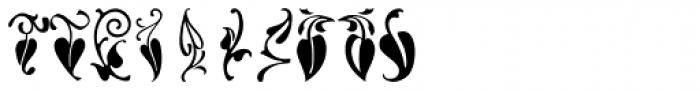 LTC Vine Leaves Font OTHER CHARS