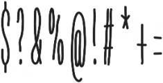 LUKA-Pro Heavy otf (800) Font OTHER CHARS
