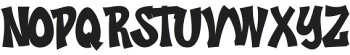 LUSER Regular otf (400) Font UPPERCASE