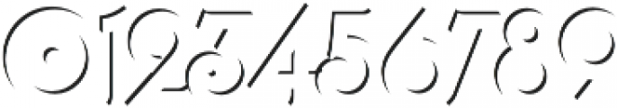 Lubaline Shadow Solo Regular otf (400) Font OTHER CHARS