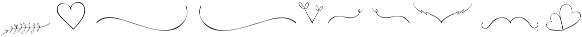 Luberon Swashes otf (400) Font LOWERCASE