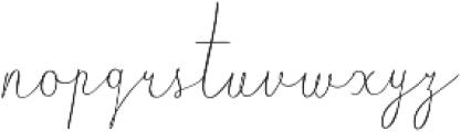 Luberon otf (400) Font LOWERCASE