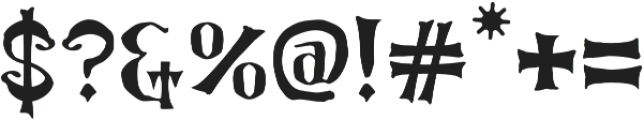 LucasBrandis otf (400) Font OTHER CHARS
