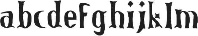 LucasBrandis otf (400) Font LOWERCASE