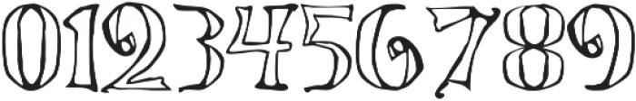 LucasBrandisVoided otf (400) Font OTHER CHARS
