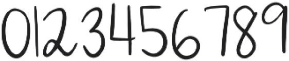 Lucille Handlettered Script otf (400) Font OTHER CHARS