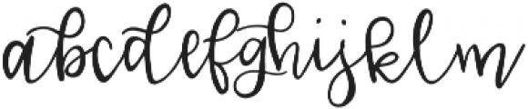 Lucille Handlettered Script otf (400) Font LOWERCASE