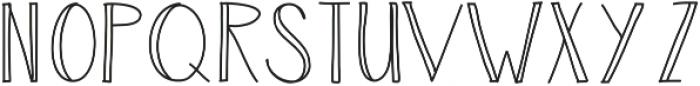 Luck ttf (400) Font UPPERCASE