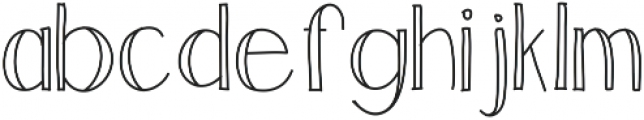 Luck ttf (400) Font LOWERCASE