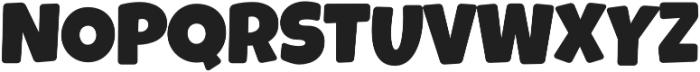 Luckiest Softie Pro Extra Bold Regular otf (700) Font UPPERCASE