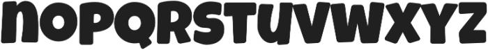 Luckiest Softie Pro Extra Bold Regular otf (700) Font LOWERCASE