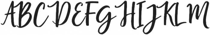 Lucky Diamond Script otf (400) Font UPPERCASE