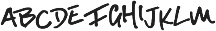 Lucky Dip Alright otf (400) Font LOWERCASE